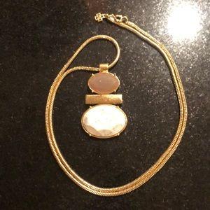 Ann Taylor Long Pendant Necklace